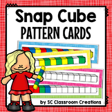Snap Cube Pattern Cards (Task Cards)