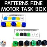 Snap Cube Pattern Cards | Fine Motor Task Box