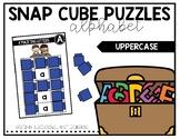 Snap Cube Puzzles: Alphabet Uppercase