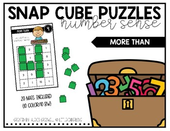 Snap Cube Puzzles: More Than