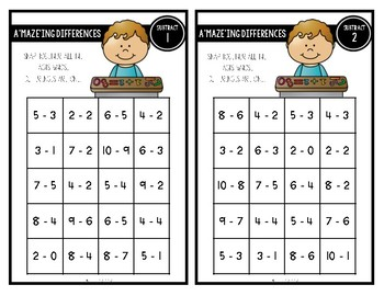 Snap Cube Puzzles: Subtraction