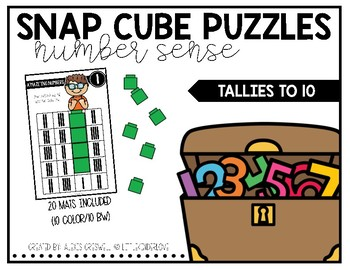Snap Cube Puzzles: Tallies to 10