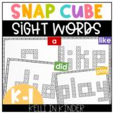 Snap Cube Sight Words
