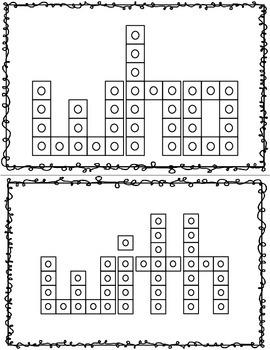 Snap Cube Sight Words Set 2