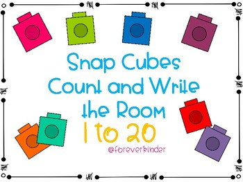 Snap Cube Write the Room 1-20