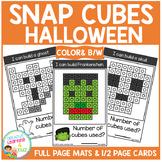 Snap Cubes Activity - Halloween