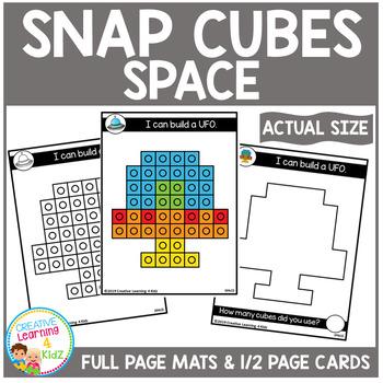 Snap Cubes Activity - Space