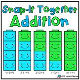 Snap Cubes Addition Math Center