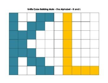 Snap Cubes Alphabet - K-Z
