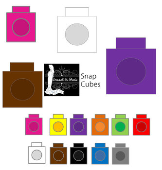 snap cubes clipart teaching resources teachers pay teachers rh teacherspayteachers com