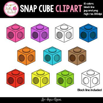 Snap Cubes Clip Art
