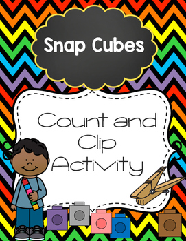 Snap Cubes Count and Clip Activity