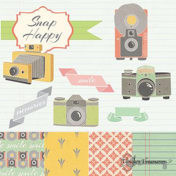 Snap Happy Camera Clipart
