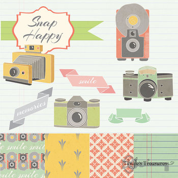 Snap Happy Camera Clipart