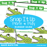 Counting On Strategy Math Game | Snap It Up