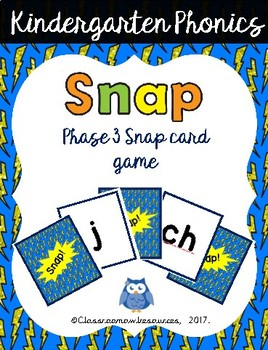 Snap Phonics Cards