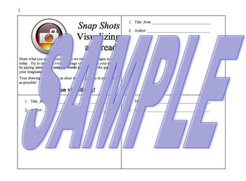 Snap Shots: Visualizing As I Read