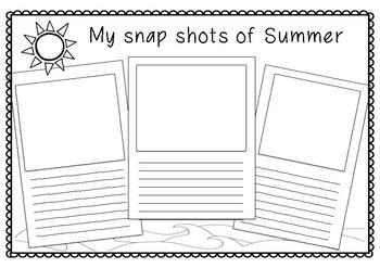 Snap Shots of Summer