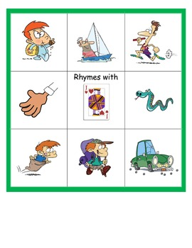 Snap That Sound: Long and Short A Rhyming Words