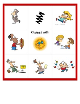 Snap That Sound: Long and Short U Rhyming Activity