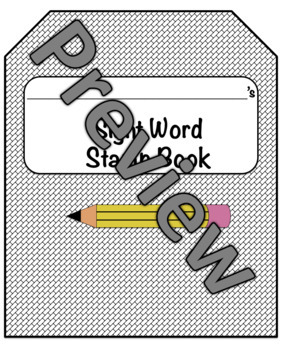 Snap Word Stamp Book (Correlates with TC Snap Word Lists)