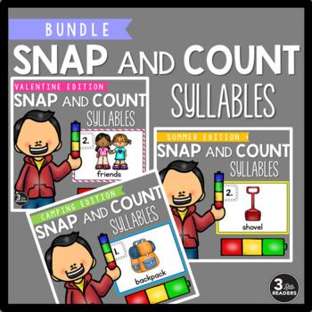 #DISCOUNTEDBUNDLES Snap and Count Syllables {BUNDLED}
