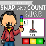 Snap and Count Syllables {Fall Edition}