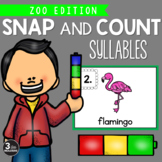 Snap and Count Syllables {Zoo Edition}
