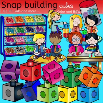 Snap building cubes, kids and more...