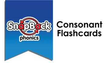 SnapBack Phonics Flashcards: Consonant Sounds