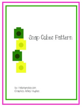 SnapCubes Patterns ABA/Special Needs