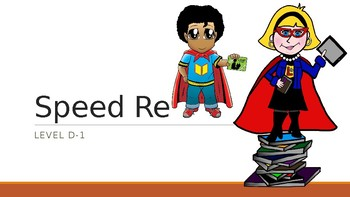 SnapWord Sight Words List D-1 Speed Read Game