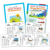 SnapWords® 301 Pocket Chart Cards