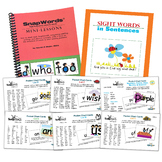 SnapWords® 306 Pocket Chart Cards