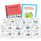 SnapWords® 607 Pocket Chart Cards
