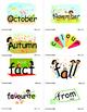 SnapWords® Global Expansion Pack Pocket Chart Cards