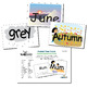 SnapWords® Global Expansion Pack Pocket Chart Cards