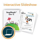 SnapWords® List C Interactive Slideshow