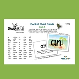 SnapWords® Sight Word List A Pocket Chart Cards