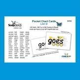 SnapWords® Sight Word List D Pocket Chart Cards