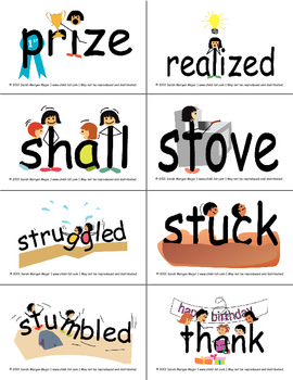 SnapWords® Sight Word List E Pocket Chart Cards