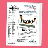 SnapWords Sight Word List G Teaching Cards