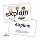 SnapWords® Verbs Teaching Cards