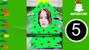 Snapchallenge Christmas Edition - Snapchat Themed Photographic Memory Game