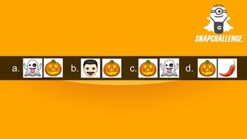 Snapchallenge Halloween Edition - Snapchat Themed Photographic Memory Game