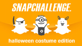 Snapchallenge Halloween Edition - Snapchat Themed Photogra