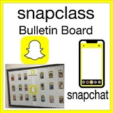 Snapchat Bulletin Board Phone Template (Color, Black&White) Large Logo Snapclass
