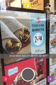 Snapchat Math Mistakes Bulletin Board