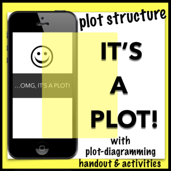 Snapchat That! Plot-Builder Activity with Handout – works with ANY story