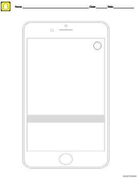 Snapchat Template